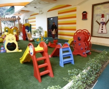 children's playing area