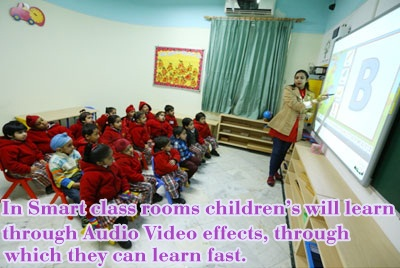 Smart class Preschool in Delhi
