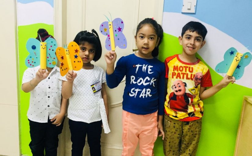 ABC Montessori Delhi kids