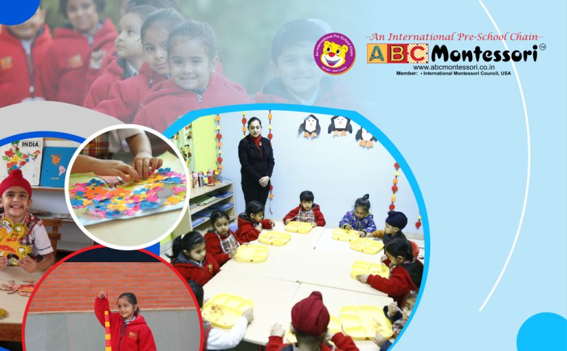 ABC Montessori Delhi – A Play School with the best classroom layout