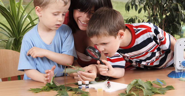 preschool nature science learning
