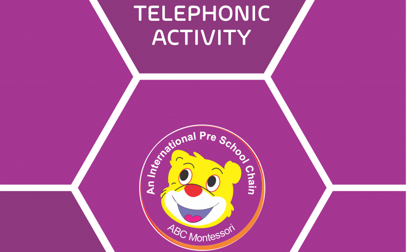 ABC Montessori conducted a Telephonic Activity
